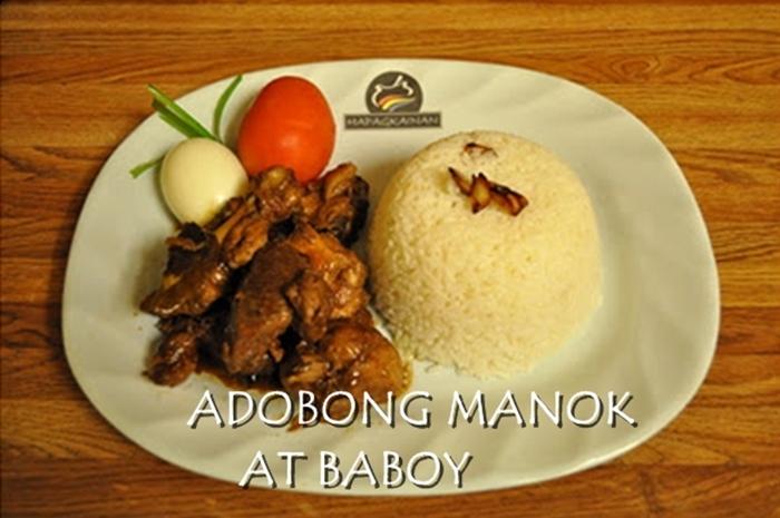 Adobong Manok at Baboy.f