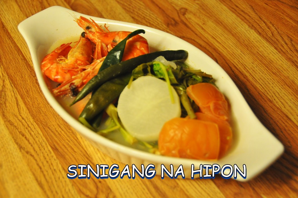 Sinigang na Hipon (Shrimp in Sour Soup) | Pinoy Hapagkainan