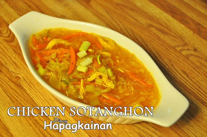 Sotanghon chicken sotanghon soup pinoy hapagkainan pinoy food recipe forumfinder Images