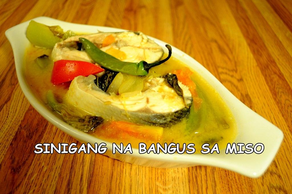 filipino sour miso soup salmon miso sinigang sarap sinigang na salmon ...