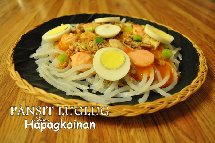 how to make pancit luglug sauce
