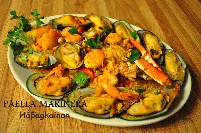 how to cook seafood marinara filipino style