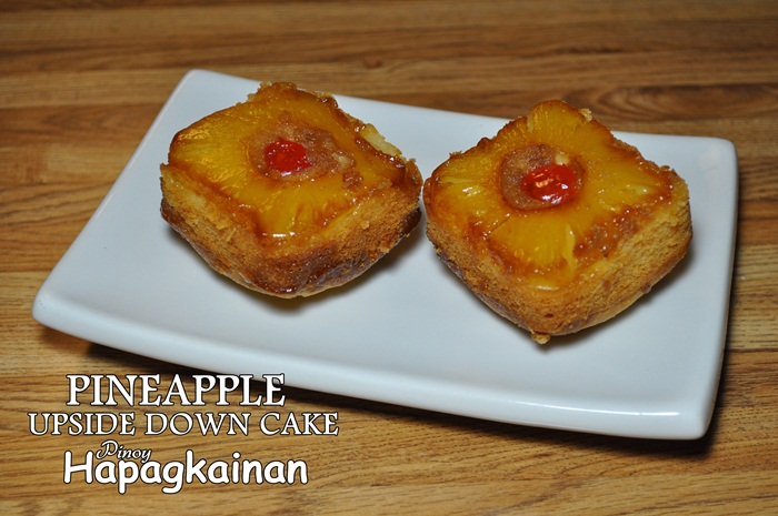 This individually sized upside down cakes are so delicious and easy to ...